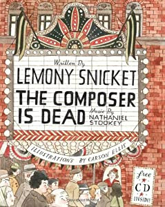 """Cover of """"The Composer Is Dead l Book & CD"""