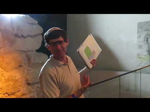 Jerusalem City of David - Guided Tour - Israel, Hezekiah Tunnel 10.14.18 (video Part 4 of 7)