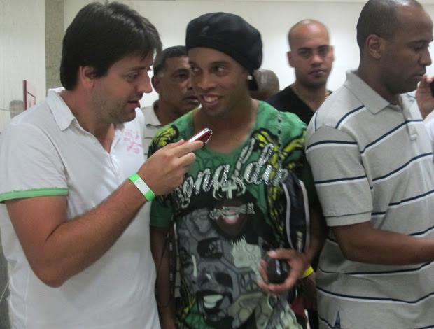 Ronaldinho Gaucho, jogador do Flamengo (Foto: Janir Junior/Globoesporte.com)