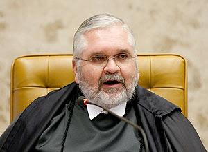 O procurador-geral da Republica, Roberto Gurgel, que pediu a condenação de 36 dos 38 réus no processo do mensalão