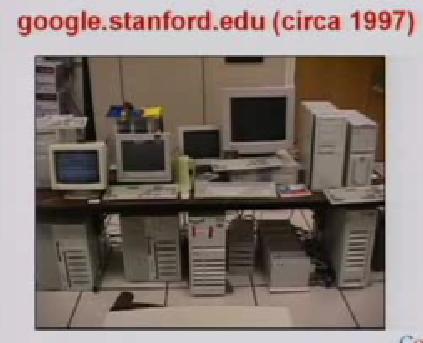 google 1997. google.stanford.edu (1997)
