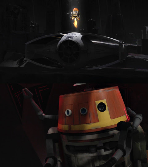 Star Wars ComLINKS: Favorite Droid   Anakin and His Angel