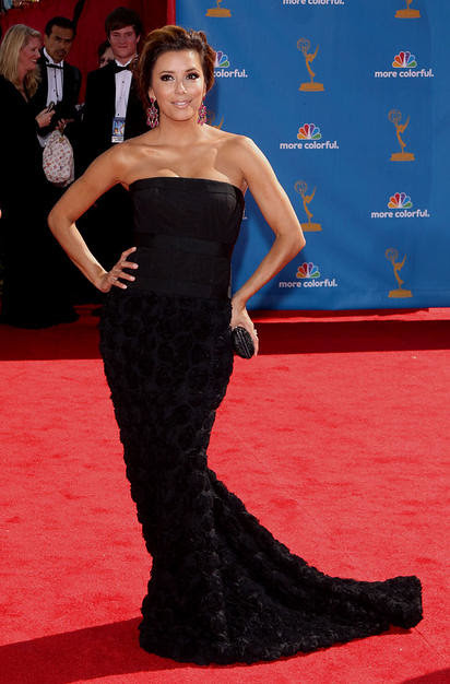 Eva Longoria Parker arrives at the 62nd Annual Primetime Emmy Aw