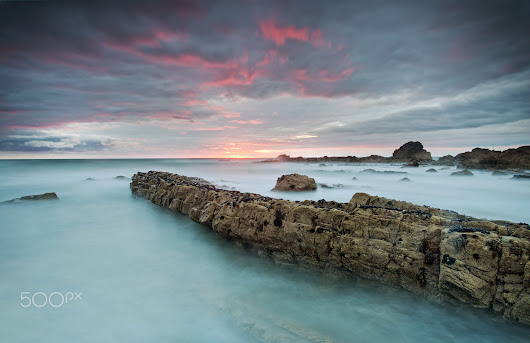 Bude at Sunset by Gordie Cavill