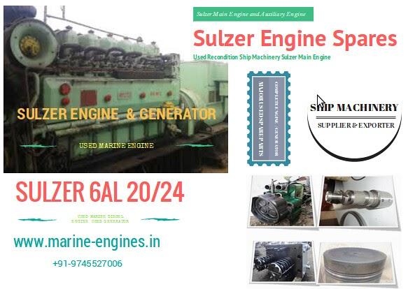 Sulzer 6AL20/24 Spares