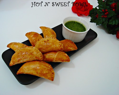 Chicken Empanada With Chimichurri