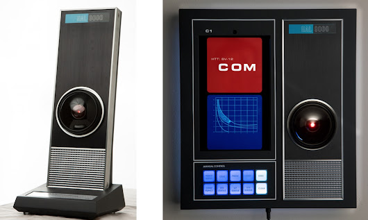 This HAL-9000 replica with Amazon Alexa support totally won't try to murder you or anything
