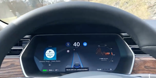 Elon Musk Shares Tesla Autopilot Video That Shows Incredible Progress