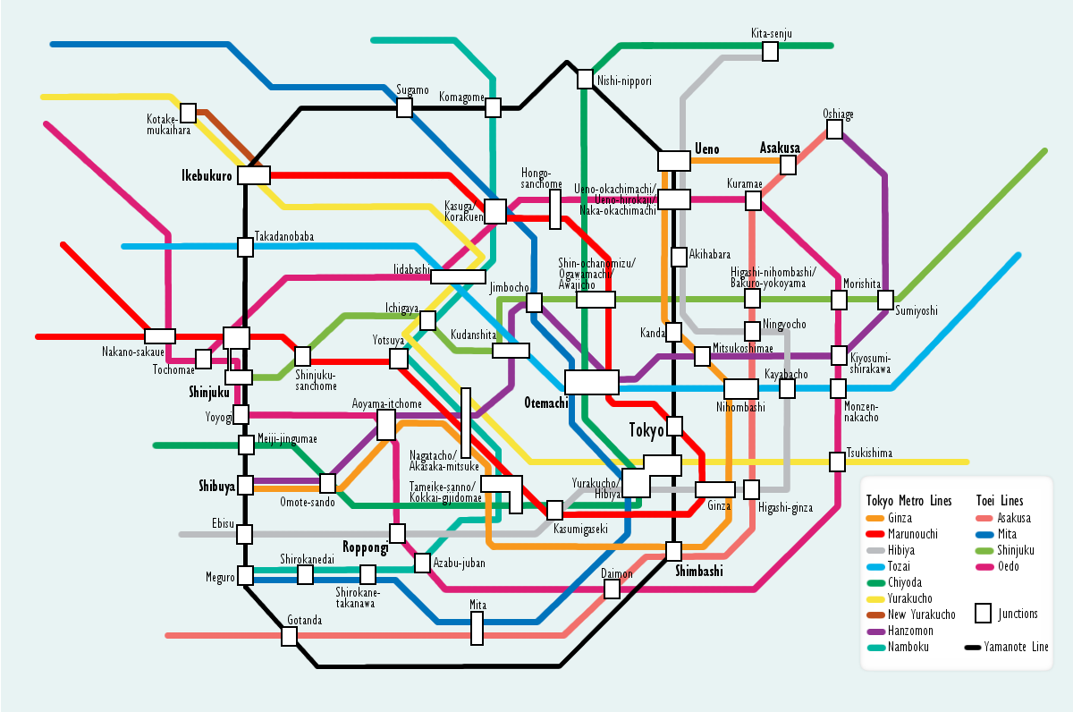 Complete Japan Tokyo Metro Route Map for Tourists Guide,Map of Tokyo Japan Metro Map,tokyo metro 05 1000 5000 6000 7000 series pass operating hours route line map,tokyo metro train map pdf english 2013