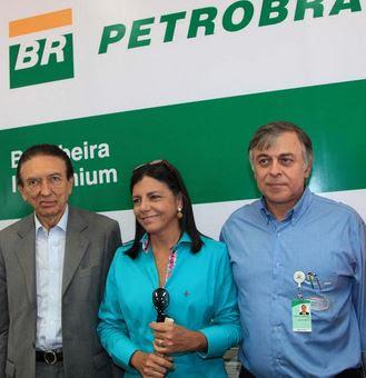 Edison Lobão, Roseana Sarney e o ex-diretor Paulo Roberto Costa