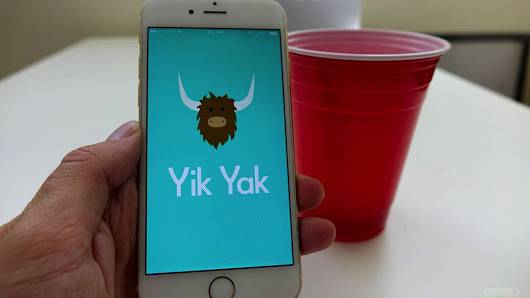 Yik Yak asks users to create user names in a step away from anonymity