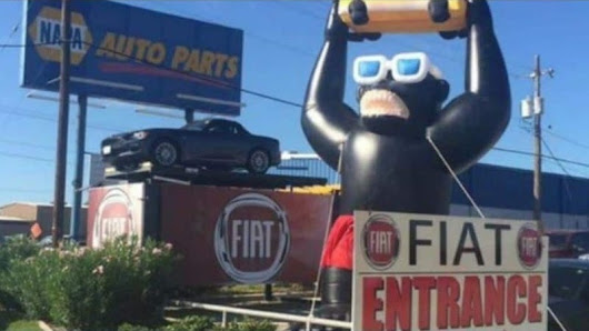 Inflatable Gorilla Still Missing After Being Stolen From Dealership