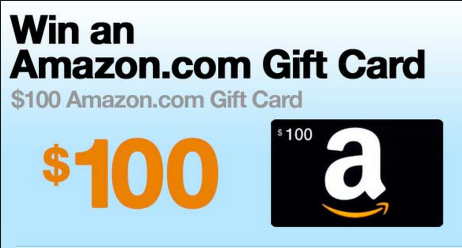 Free Giveaway - Amazon $100 Amazon Gift Card