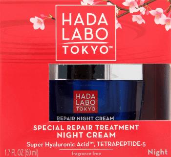 Hada Labo Tokyo, Special Repair Treatment Night Cream, głęboko odbudowujący krem-zabieg na noc, 50 ml, nr kat. 260921