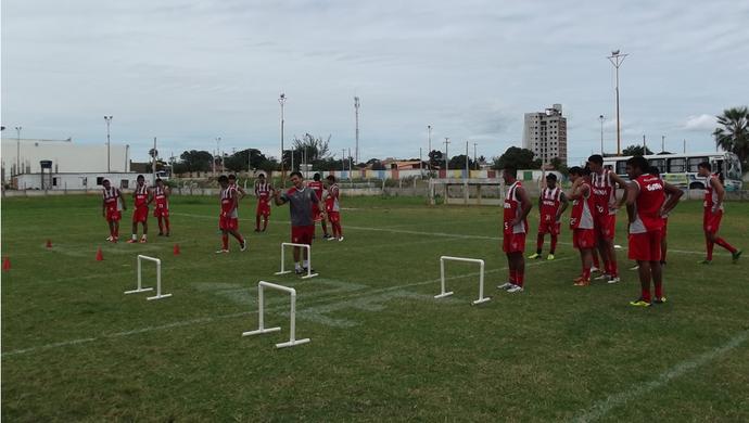 Equipe Sub-20 do Potiguar se prepara para a Copa do Nordeste da categoria (Foto: Divulgação/ Potiguar)