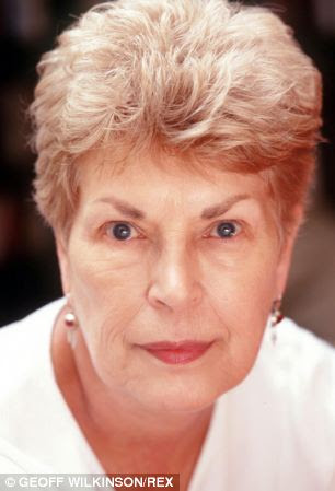 Author: When Ruth Rendell (pictured) came into the House of Lords as a life peer, she heard about the 1985  law which made FGM a crime