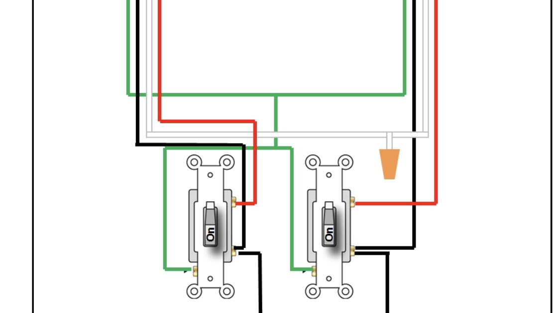 2 Gang 2 Way Light Switch Wiring Diagram
