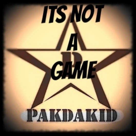 PAK DA KID - It's Not A Game