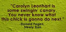 Donald Fagen praises Carolyn