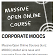 Corporate MOOC bei Telekom: Magenta MOOC im Rahmen des Innovationsmanagement