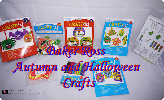 Autumn and Halloween crafting from Baker Ross – Mummy and the Cuties