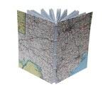 Handbound Notebook - Maps