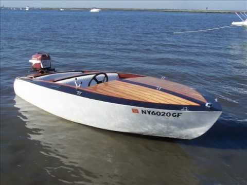 Homemade Wood Boat - YouTube