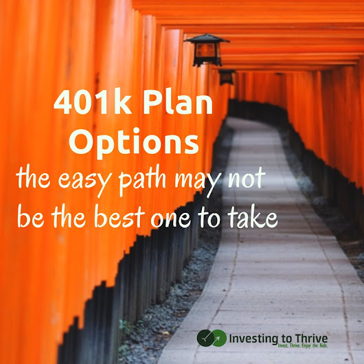 Why 401k Default Options May Not Be Enough