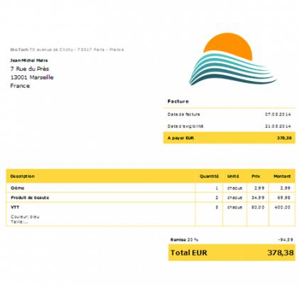 fluxmark logiciel professionnel gratuit de facturation debitoor fr 2014 licence gratuite. Black Bedroom Furniture Sets. Home Design Ideas