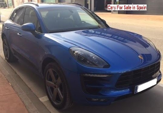 2015 Porsche Macan S diesel automatic 4x4 SUV - Cars for sale in Spain