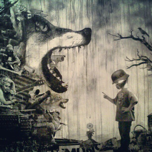 @filthgrime the big who cried wolf. Opening tonight @loakal #loakal #filthgrime @lastrites by *eddie