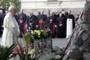 The Latest: Pope visits ex-KGB headquarters in Lithuania