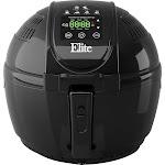 Elite Platinum - 3.5 qt. Digital Air Fryer - Black