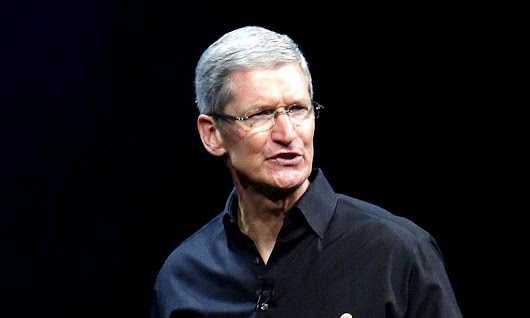 Climate change denier? Well, don't buy shares in Apple says CEO
