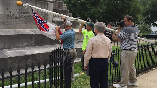 Here's Where the Confederate Flag Is Being Taken Down