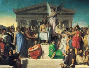 Jean_Auguste_Dominique_Ingres,_Apotheosis_of_Homer,_1827