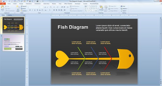 Fish Diagram for PowerPoint