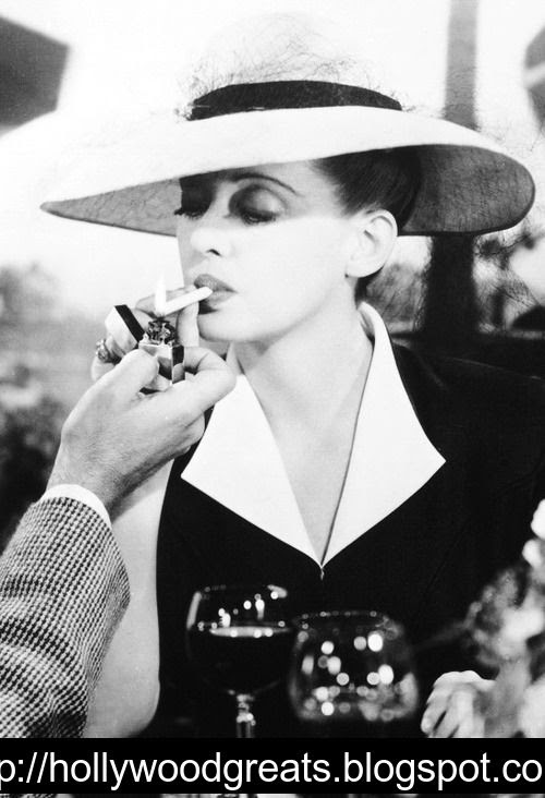 Now Voyager (1942) Bette Davis's transformation from a deeply dowdy (read: traumatized) 30-ish homebody to the glamorous woman of the world she becomes once she gets away from her soul-crushing mother
