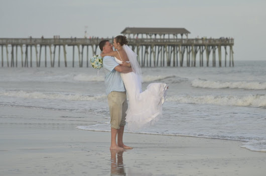 Congrats Rich & Peggy - Sweet Intimate Myrtle Beach Wedding