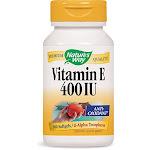 Natures Way Vitamin E - 400 IU - d-Alpha Tocopherol- 100 Softgels