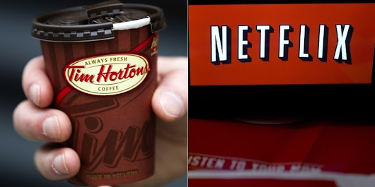 Why Tim Hortons Will Soon Be A Lot More Like ... Netflix