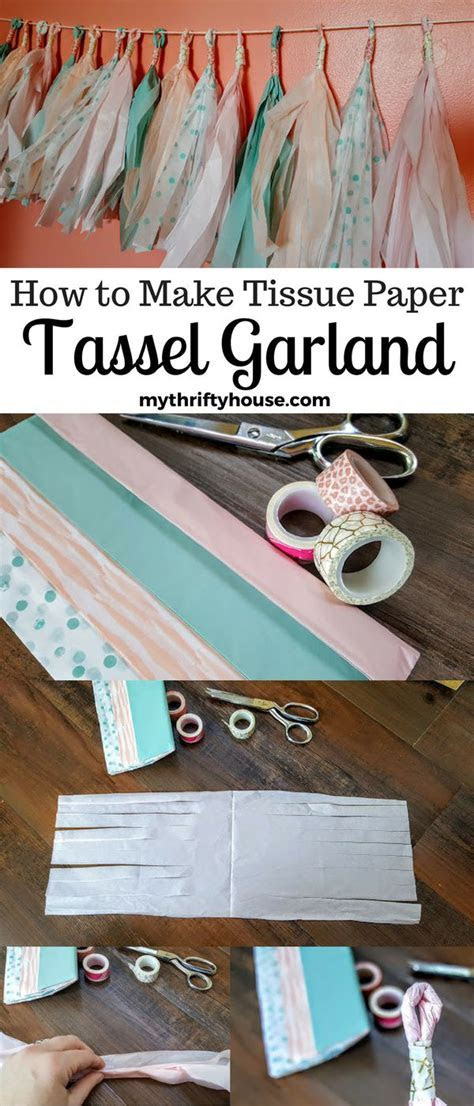 17 Best ideas about Tissue Paper Garlands on Pinterest