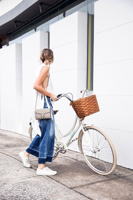 Le Fashion Blog Tank Top Statement Jeans Sneakers Gucci Crossbody Bag Via The Chronicles Of Her