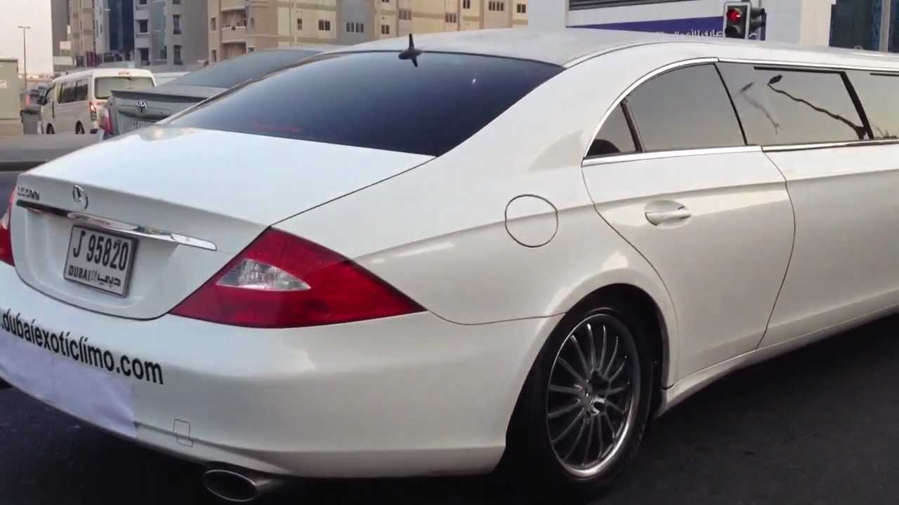 CLS Mercedes-Benz stretch limo - YouTube