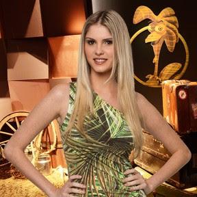 Bárbara Evans - 'A Fazenda 6' (Foto: Edu Moraes/ Divulgação)