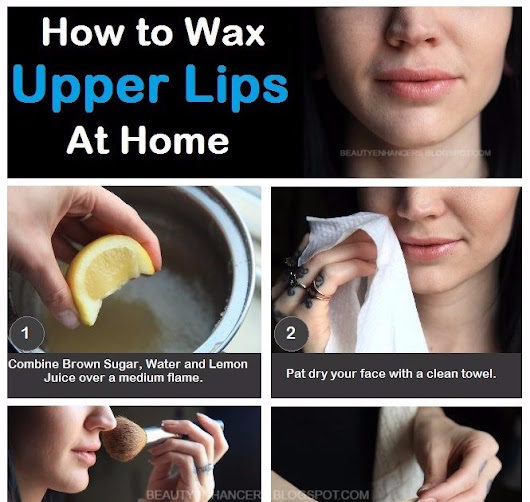 How to Wax Upper Lips at Home with Homemade Brown Sugar Wax