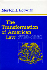 Cover: The Transformation of American Law, 1780-1860 in PAPERBACK