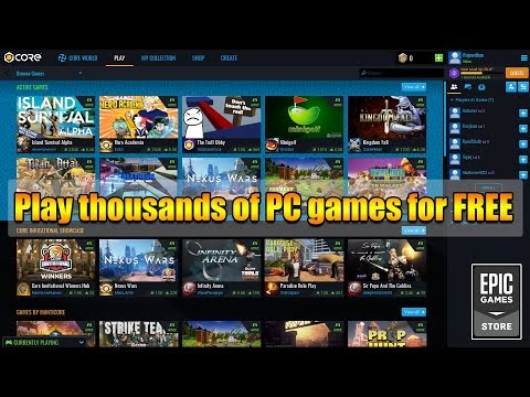 This NEW platform allows you to play thousands of PC games for FREE! - I...