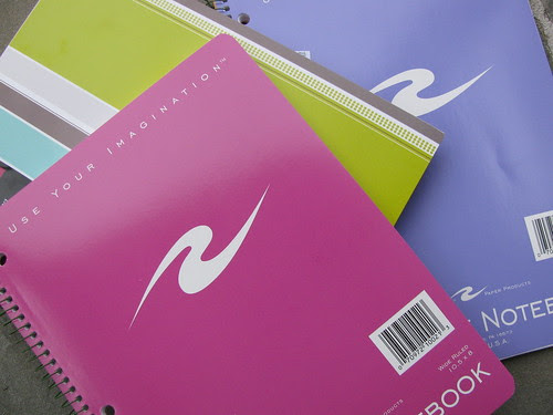 Candy-Colored Notebooks
