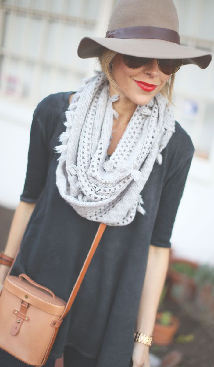 Anthropologie Scarf Giveaway by Happily Grey => Click to see what she wears